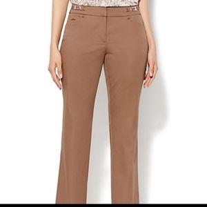 New York & Company Brown Work Dress Pants